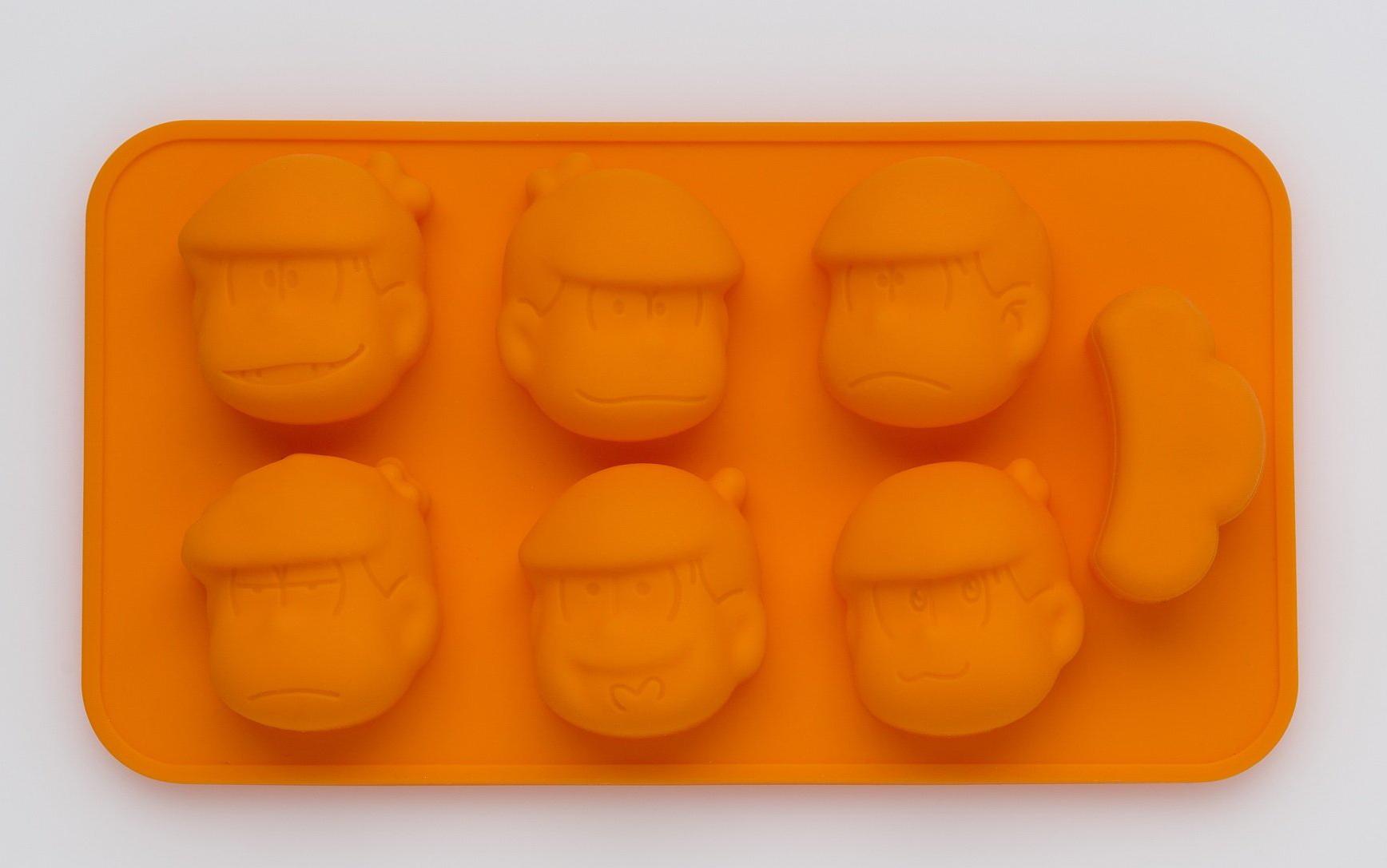 松野家レシピ付き おそ松さん 6つ子シリコントレーBOOK【付録】おそ松さん 6つ子 シリコントレー